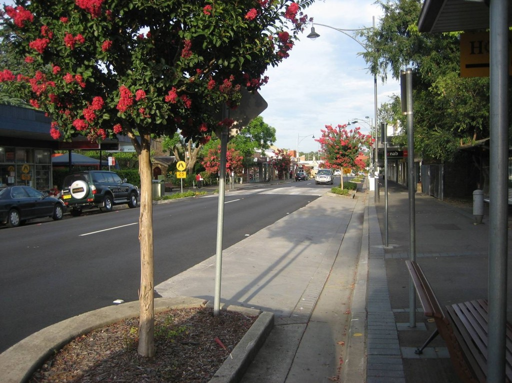 Springwood Town Centre Macquarie Rd