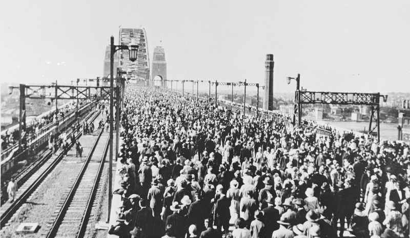 Opening of Sydney Harbour Bridge 1932