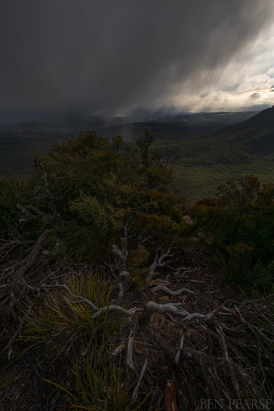 Ben Pearson-Snow over megalong valley- july 2015