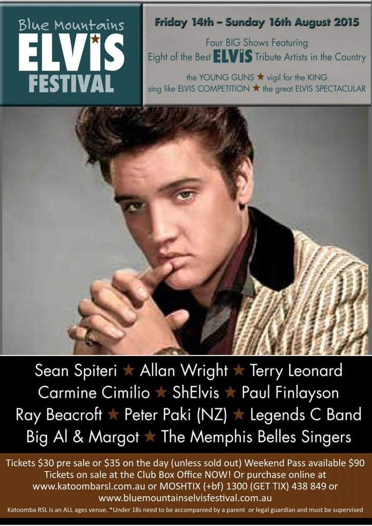 Blue Mountains Elvis Festival