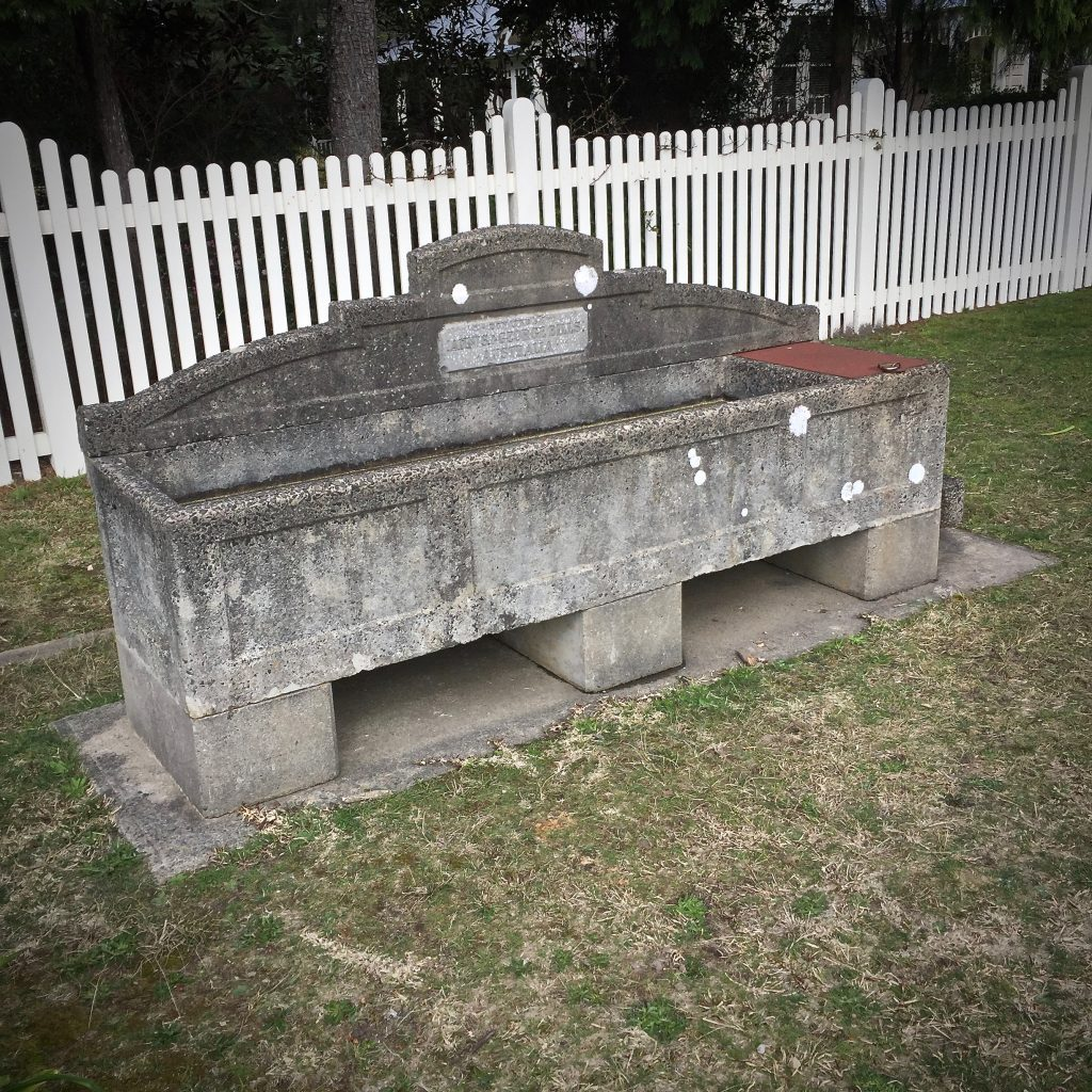 Wentworth Falls Horse Trough
