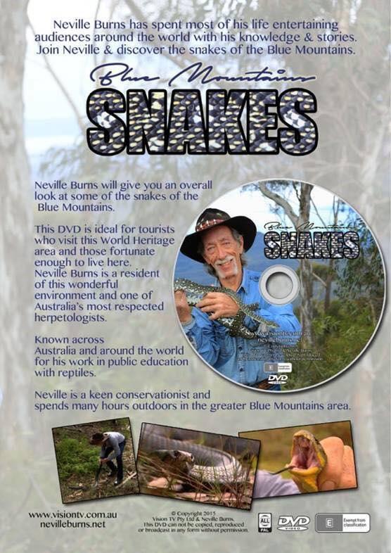 Neville Burns snake catcher