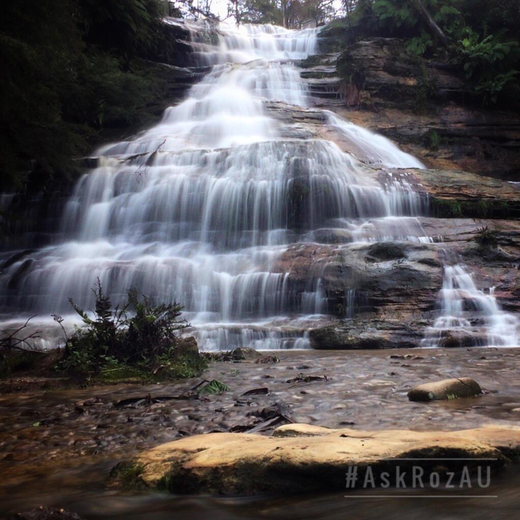 Ask Roz Katoomba Cascades, Katoomba Falls