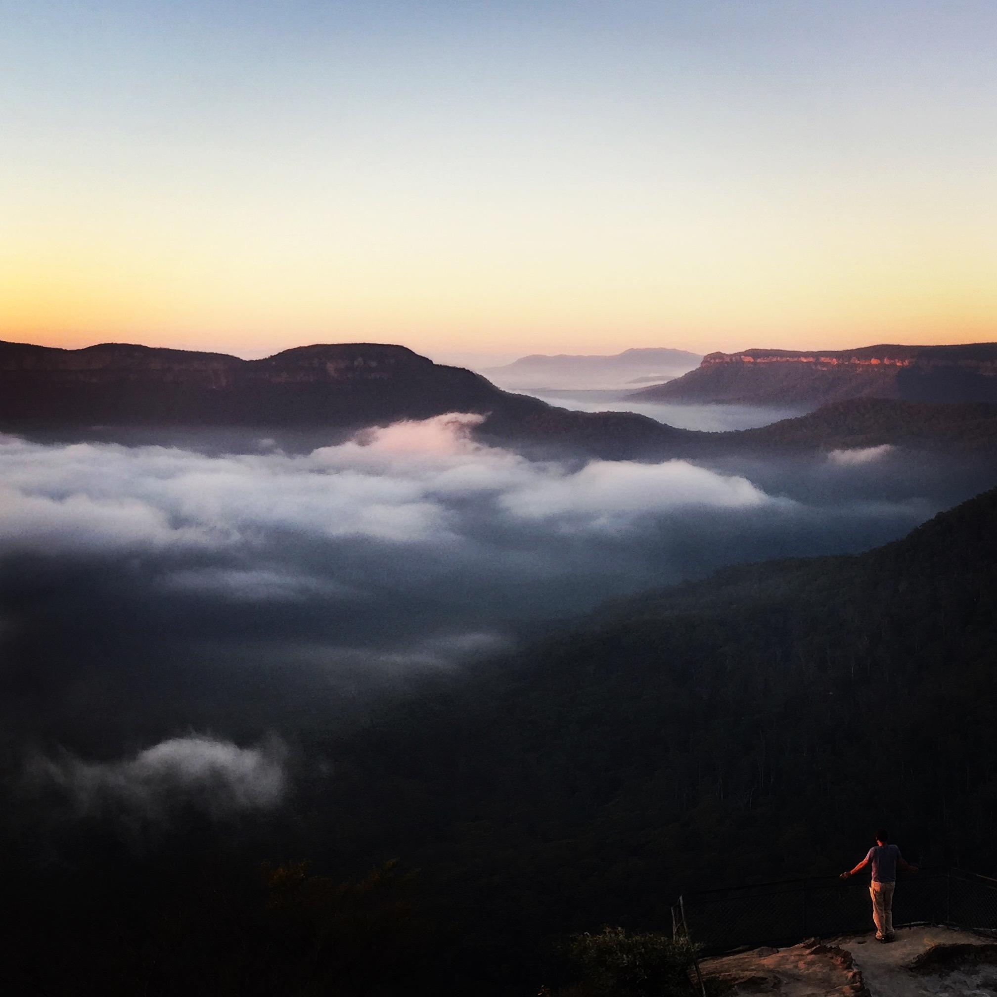 Olympian Rock Ask Roz Blue Mountains best sunrise spots in Leura