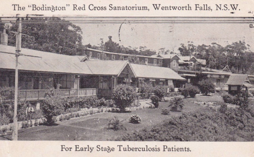 The 'Bodington' Red Cross Sanitorium, Wentworth Falls, N.S.W. - 1939