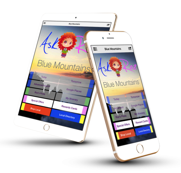Ask Roz Blue Mountains apps