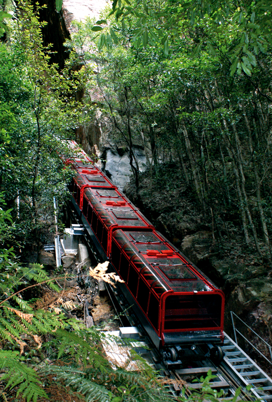 Scenic Worl d Blue Mountains, Scenic Railway