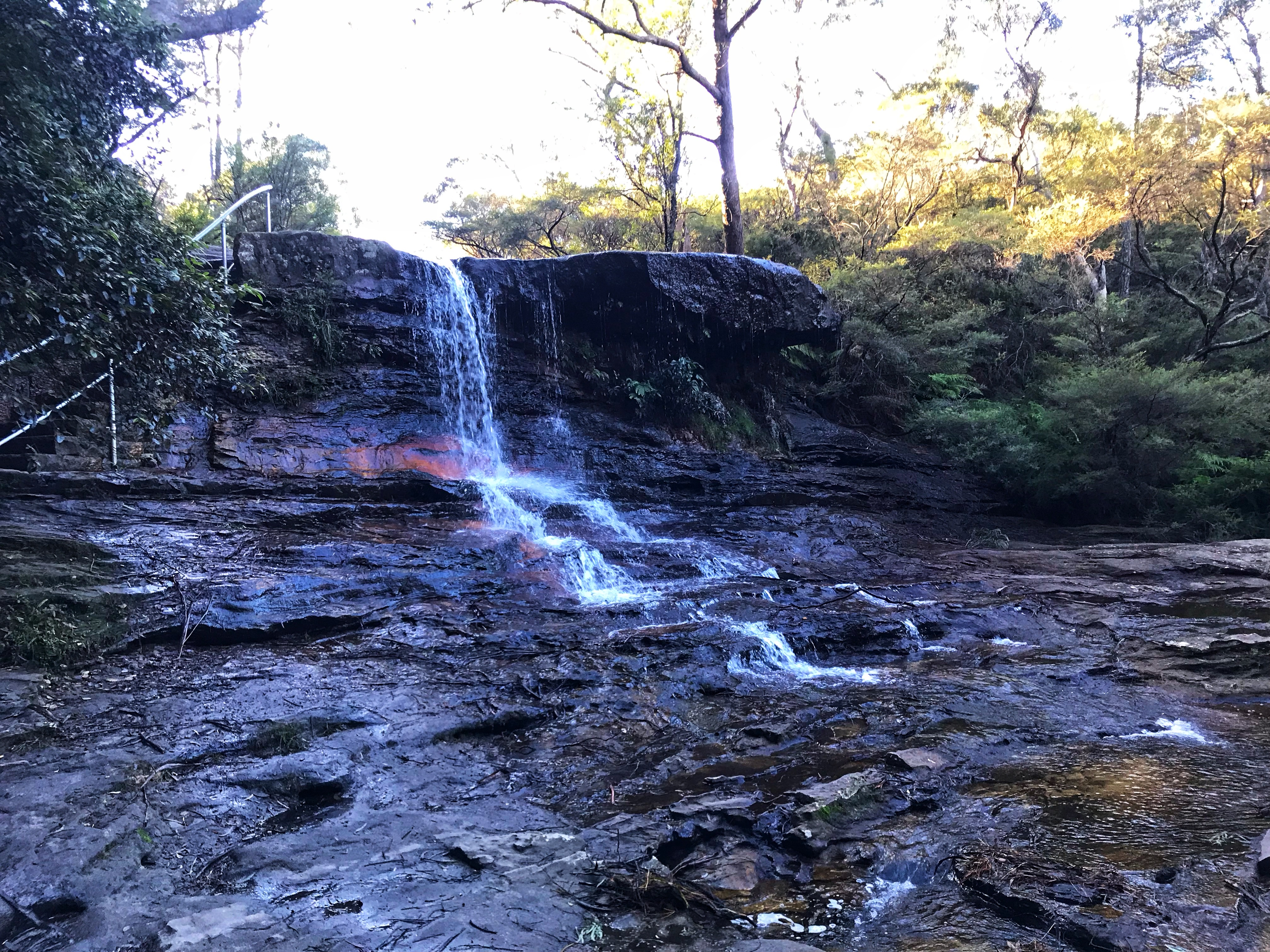 Undercliff-Overcliff walk Wentworth Falls