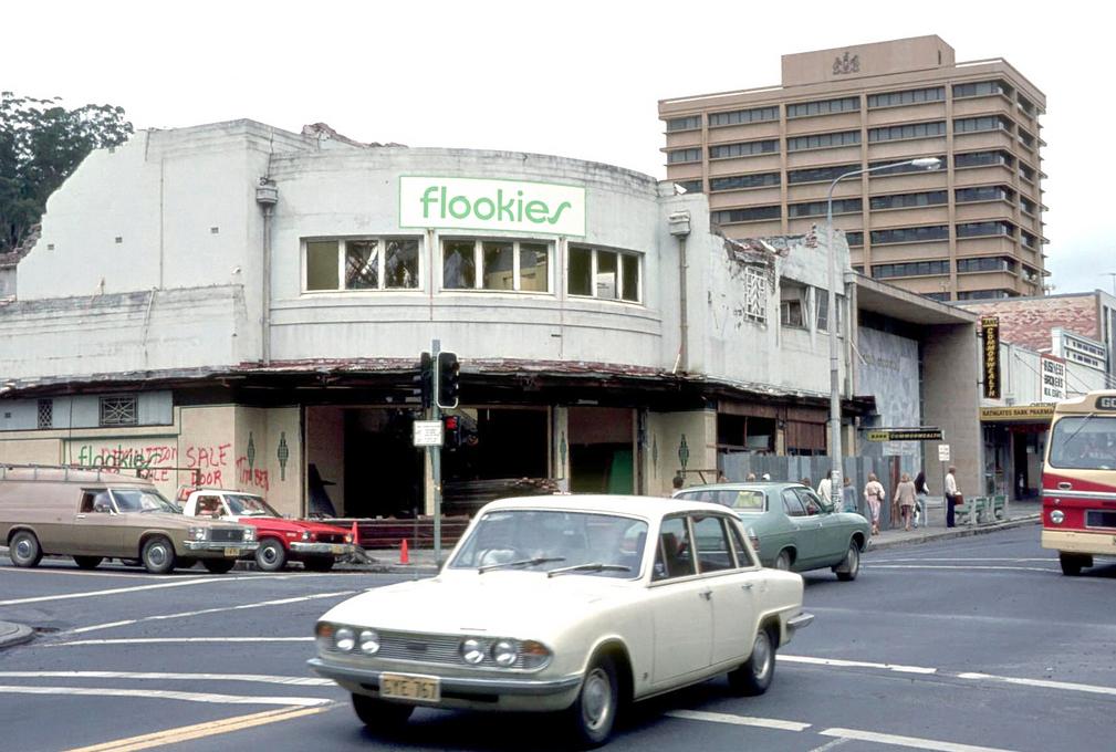 Regal Theatre demolition, Gosford November 1978