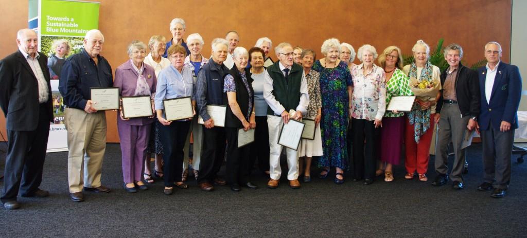Seniors Week 2015 award presentation
