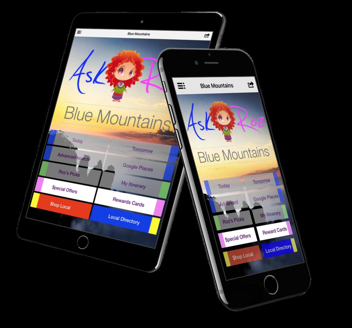 Ask Roz Blue Mountains - Phantom Falls