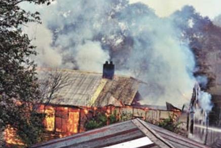 Mount St. Marys fire