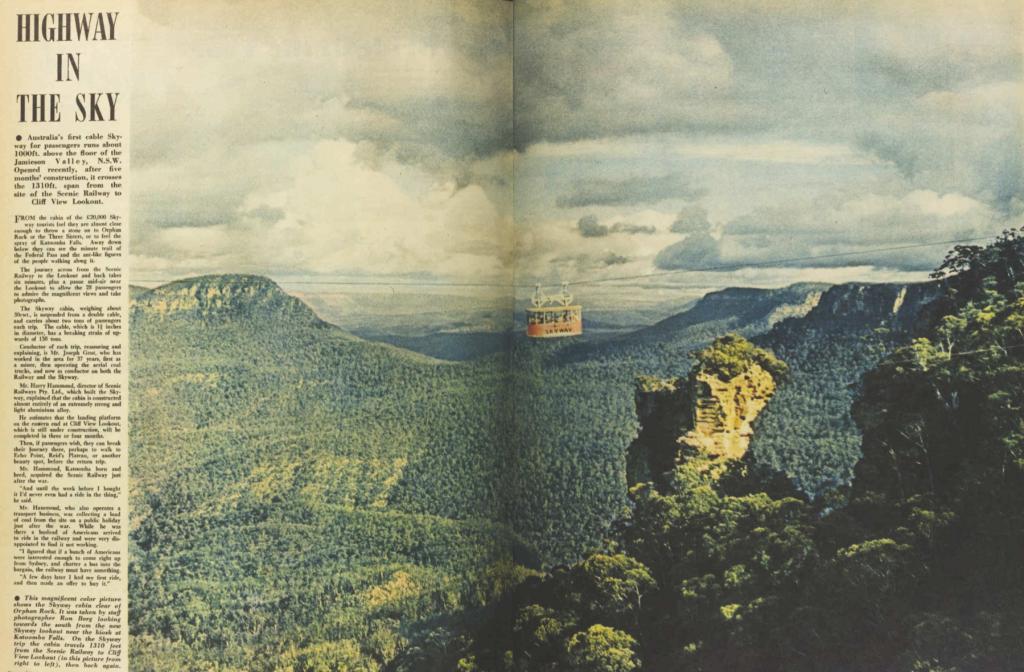 Original Scenic Skyway, Katoomba