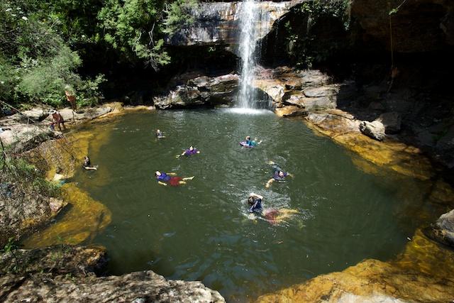 Minnie HaHa Falls, Katoomba