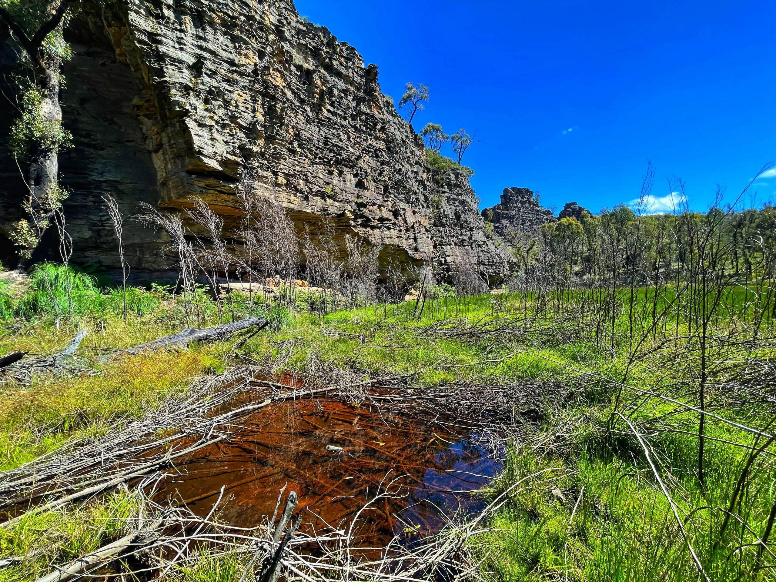 Goochs Crater floor