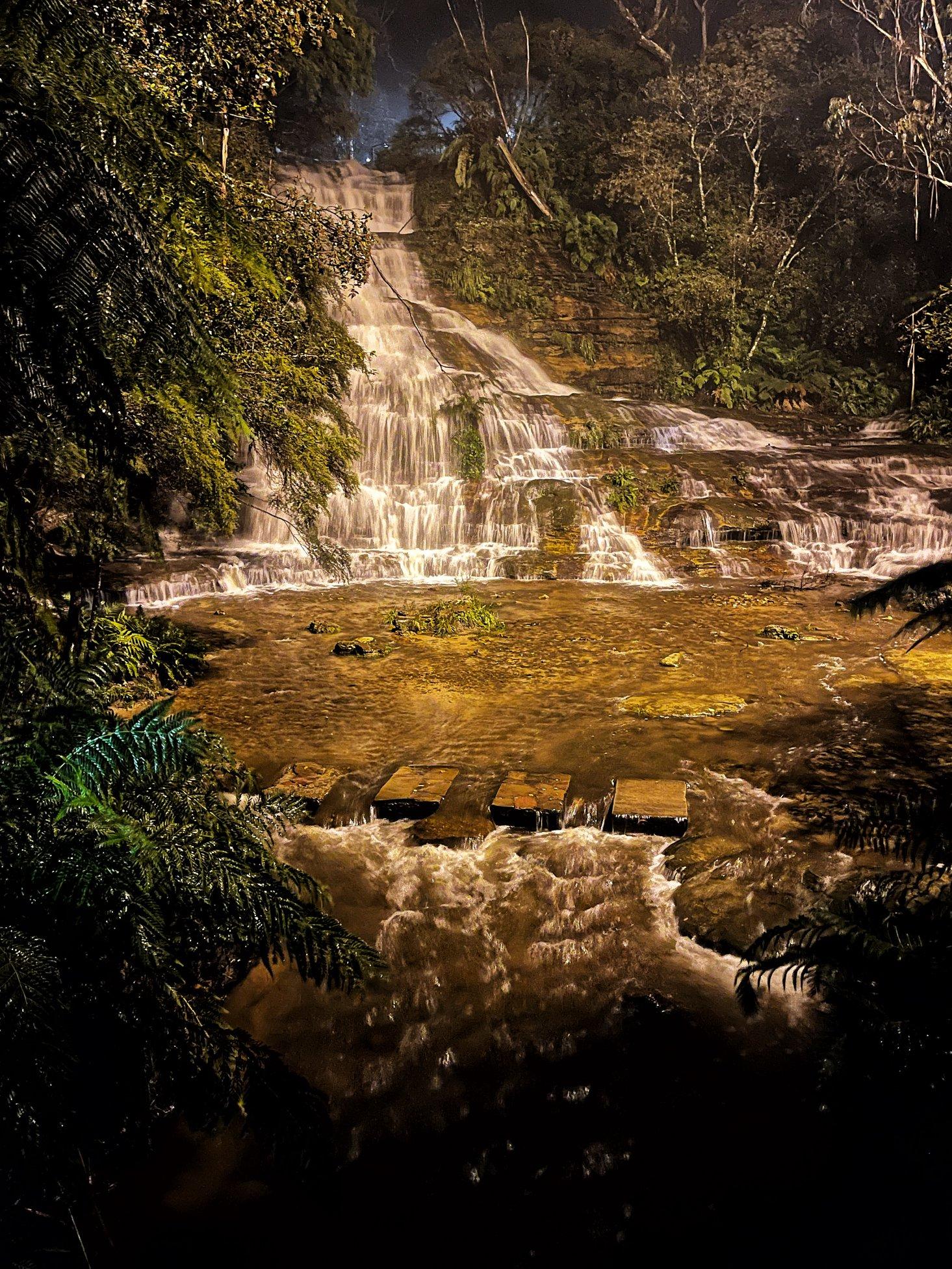 Katoomba Falls Night-Lit Walk