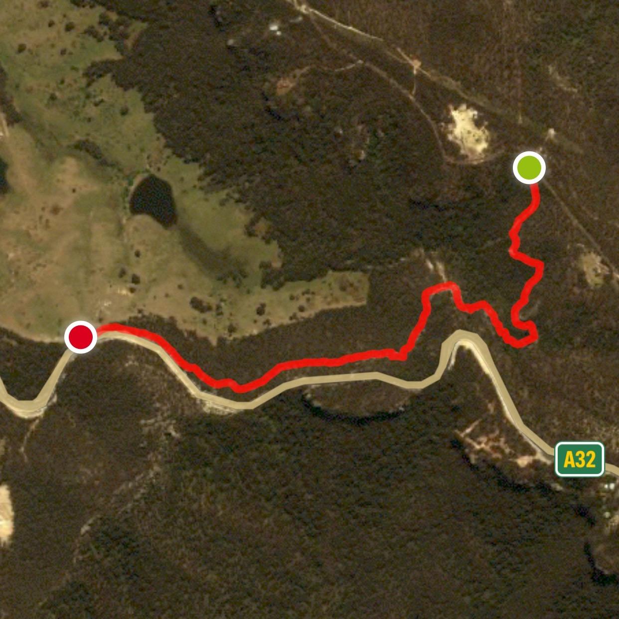 Berghofers Pass Mount Victoria