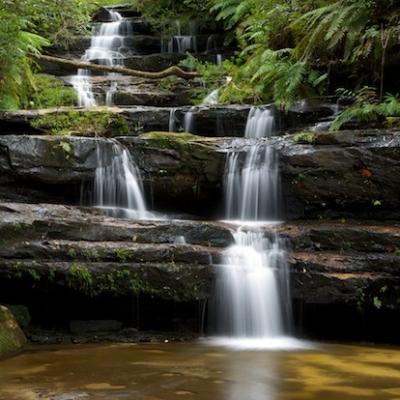 Terrace Falls, Hazelbrook