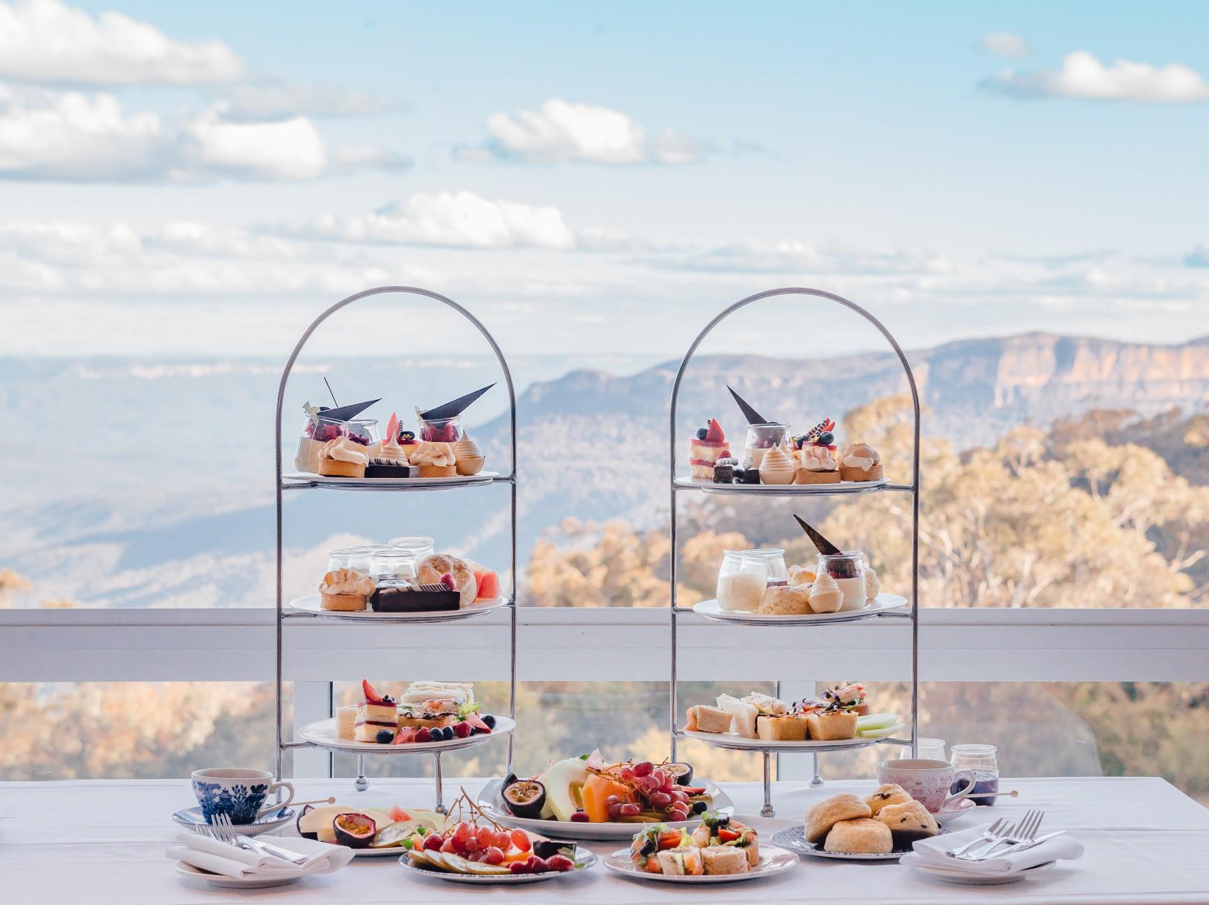 Fairmont Resort, Leura, High Tea
