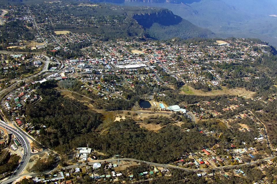 Origin of Blue Mountains Town Names