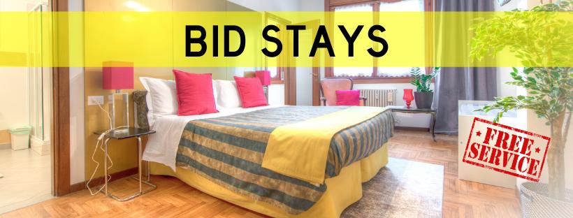 Bid Stays best priced holiday accommodation