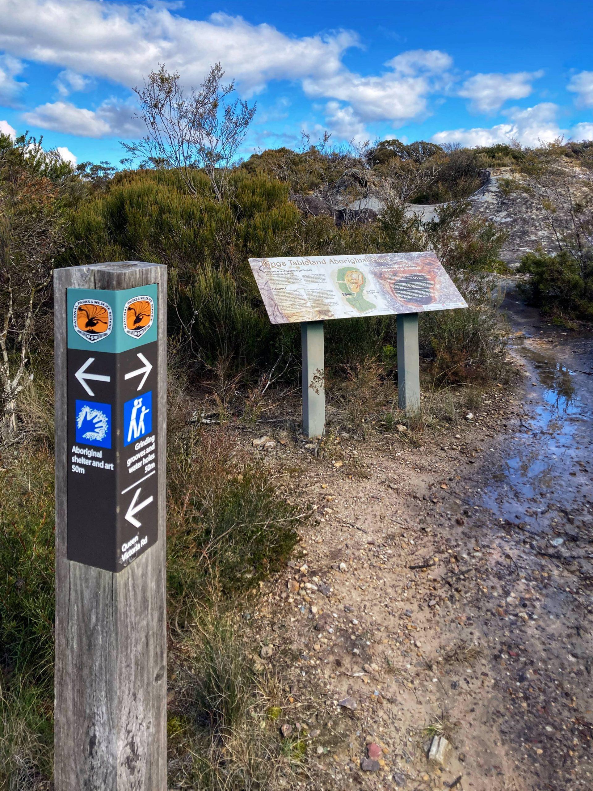 Kings Tableland Aboriginal Place Wentworth Falls