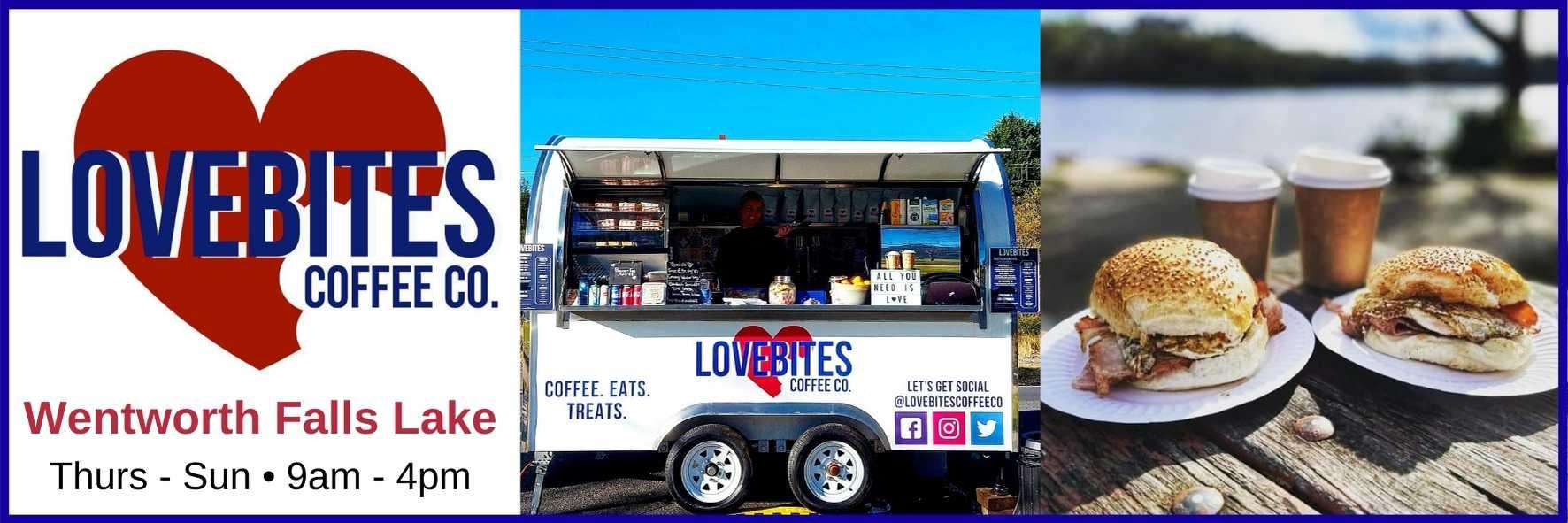 Lovebite Coffee Co., Wentworth Falls Lake