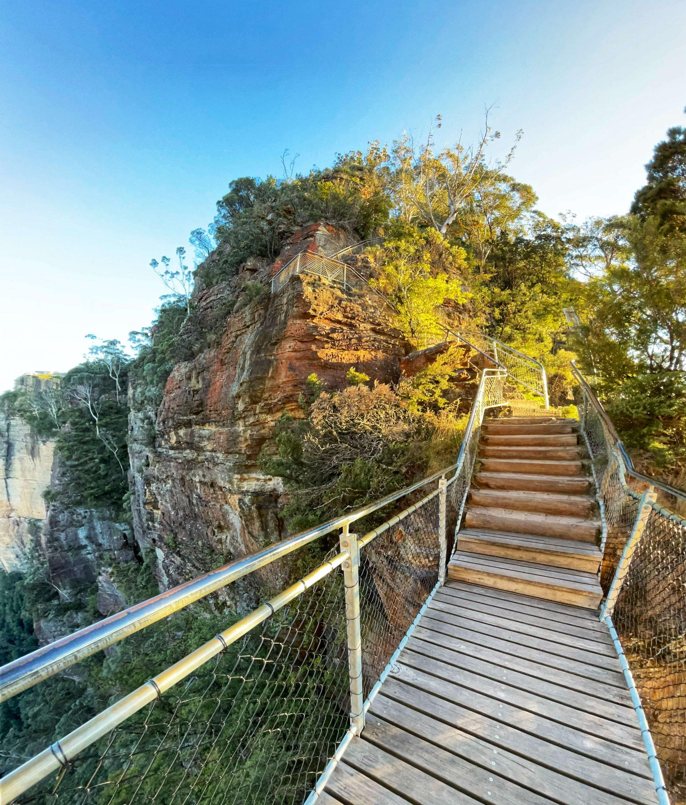 Honeymoon Bridge Katoomba