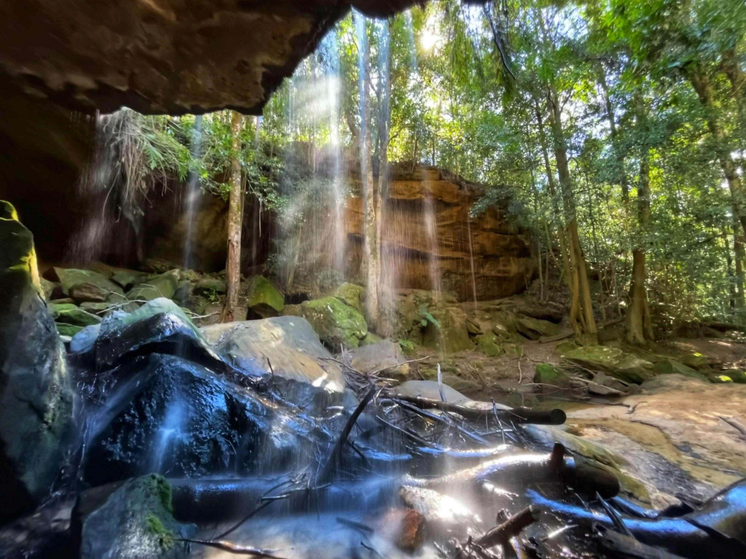 Horseshoe Falls, Oaklands Falls, Burgess Falls, Hazelbrook